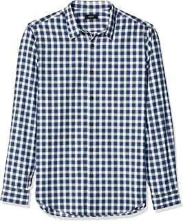 Theory Men's Irving Light Flannel Long Sleeve Woven