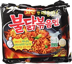 Samyang New Ramen/Spicy Chicken Roasted Noodles, 4.93 oz (Pack of 5)