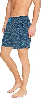 Zoggs Men's Patterned 16-inch Swim Shorts, Swim Trunks