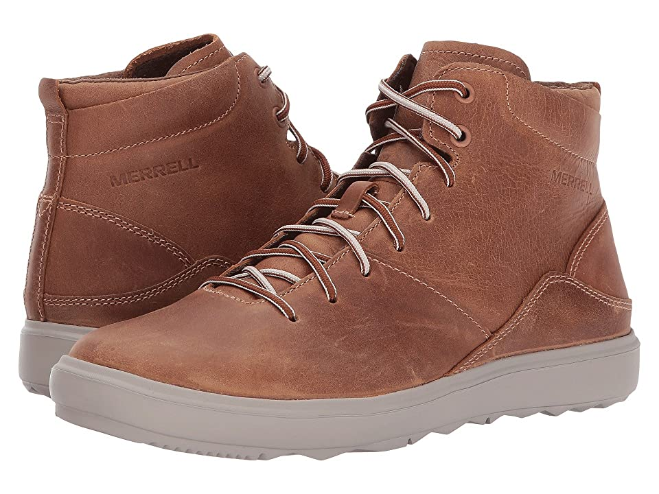 Merrell Around Town Mid Lace (Brown Sugar) Women