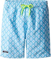 Toobydoo - Ikat Aqua Swim Shorts (Infant/Toddler/Little Kids/Big Kids)