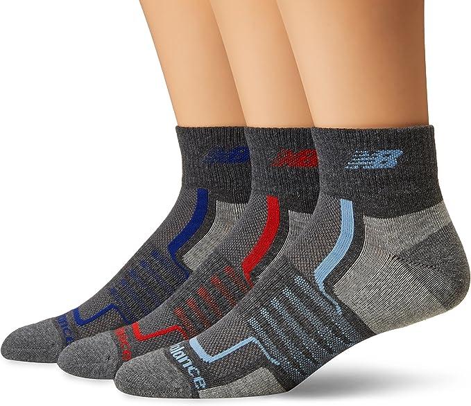 New Balance Men's Performance Ankle Socks-3 Pairs