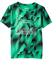Under Armour Kids - Sandstorm Big Logo Tee (Little Kids/Big Kids)
