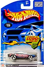 Hot Wheels 2002 '67 Camaro Mainline Race Team #139 BLUE 1:64 Scale Collectible Die Cast Car