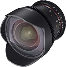 Rokinon Cine DS DS14M-NEX 14mm T3.1 ED AS IF UMC Full Frame Cine Wide Angle Lens for Sony E