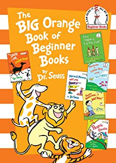 The Big Orange Book of Beginner Books by Dr Seuss - Hardcover