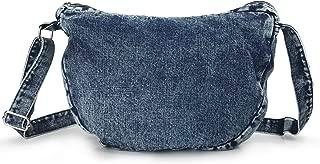 Denim Indigo Hobo Cross Body Bag Womens Shoulder Bag