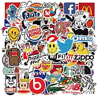 Stickers for Adults Teens Kids, 101PCS Waterproof Decals Vinyls Perfect for Laptop, Computer, Skateboard, Phone, Envelopes...
