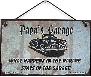 Best papa's garage sign Reviews