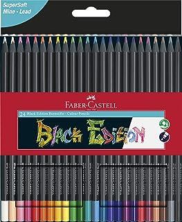 Faber-Castell Black Editition 24 x Colour Pencils