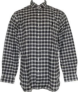 Men's Lightweight Slim Fit Flannel Shirt Long Sleeve Plaid Shirts