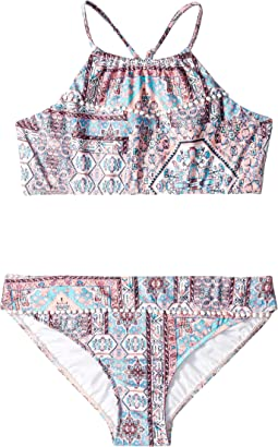 Maharaja Ruched Neck Tankini Set