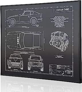 datsun 240z blueprints