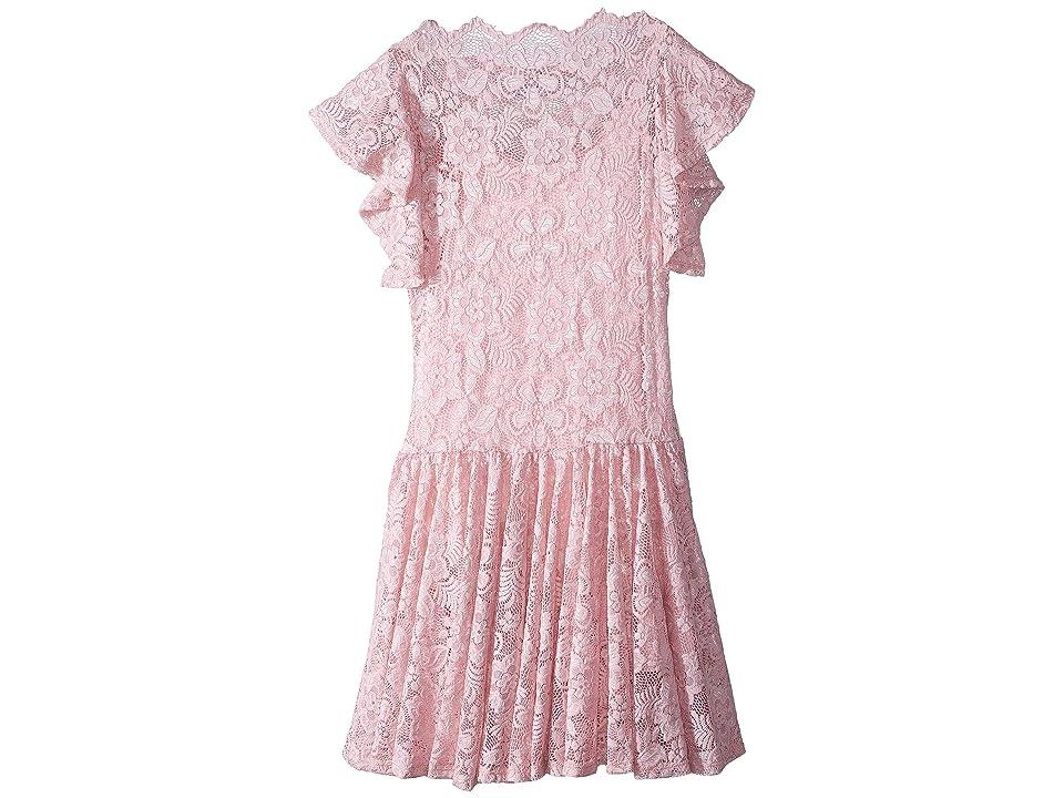 fiveloaves twofish Uptown Dress (Big Kids) (Pink) Girl