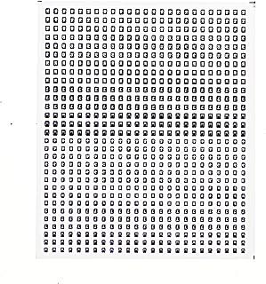 レボリューションファクトリーNゲージ区名札シール3貨物  RLF4132