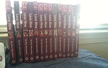 Complete set Manga Series: LOVE HINA, volumes 1-14