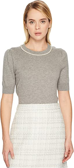 Kate Spade New York - Pearl Embellished Sweater