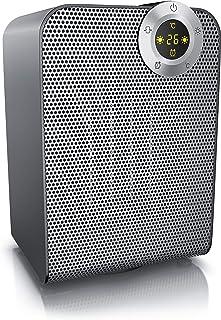 Brandson 96846313684 Calefactor, gris frío, 1800 Watt
