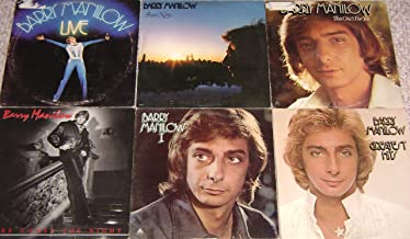 BARRY MANILOW: I, Even Now, Here Comes The Night, This One's For You, Live & Greatest Hits (6 Album Lot)