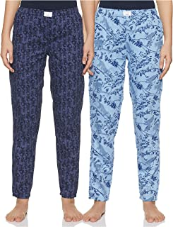 Diverse Women's Pyjama Bottom (Pack of 2) (DCWLPCMSC19L34-15_Multicolor_Medium)