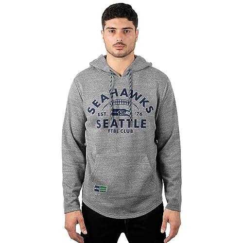 ICER Brands NFL Men s Fleece Hoodie Pullover Sweatshirt Vintage Logo 00269ec3a