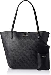 GUESS Womens Alby Tote Bag