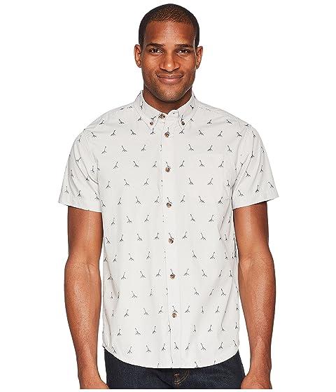 Broderick titanio gris bordado Prana camisa Hndqw77Z