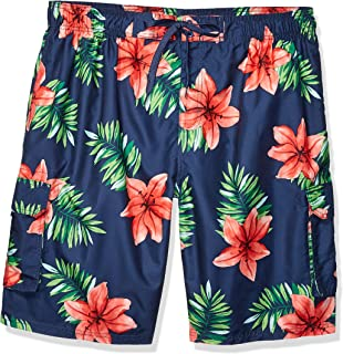Kanu Surf Men's Big Kala Extended Size Quick Dry Beach Shorts Swim Trunk