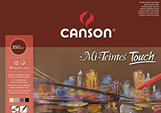 200005425 Canson - Mi-Teintes Touch Pad - A3-12 arkuszy