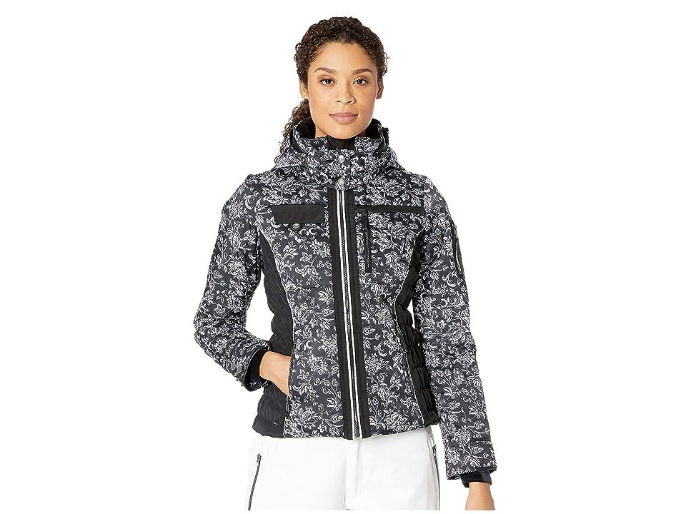 Obermeyer Hadley Jacket (Honeysuckle Black/White) Women