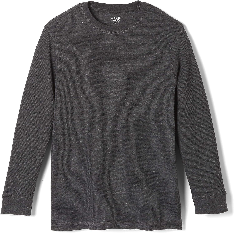 French Max 69% OFF Toast Boys' San Francisco Mall Long Sleeve Waffle T-Shirt Thermal Tee