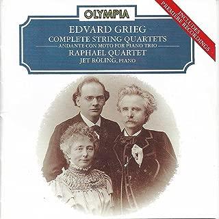 String Quartet No.1 in G minor, Op.27: I. Un poco andante – Allegro molto ed agitato