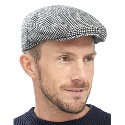Tom Franks Mens Traditional Flat Cap 33370e70d5c