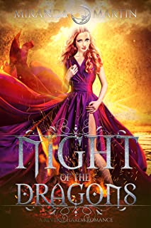 Night of the Dragons: A Reverse Harem Romance (Red Planet Dragons of Tajss)