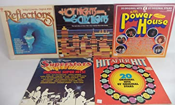 K-Tel and Ronco Lot of 5 Vinyl Record Albums Hot Nights & City Lights and more