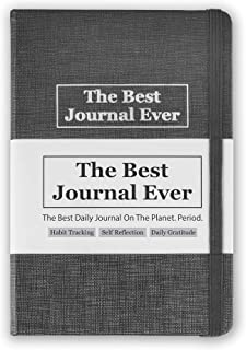 Daily Positivity Journal For Happiness, Wellness, Mindfulness & Self Care - Inspirational Journals To Write In, Writing Prompt Journal & Guided Journal Gifts For Men & Women - Hardcover Diary Notebook