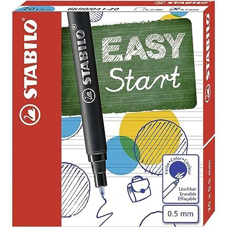 Cartuccia Refill per Penna Roller Ergonomica - STABILO EASYOriginal - Confezione da 20 - Colore Blu