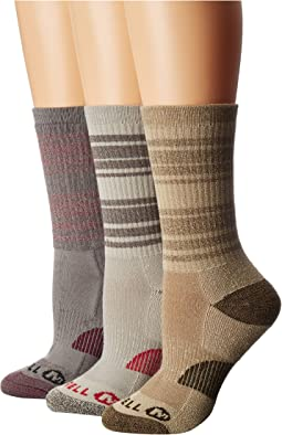 Cushioned Hiker Crew 3-Pack Socks