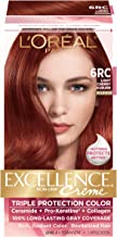 L'Oreal Paris Excellence Creme, 6RC Light Cherry Auburn