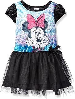 Disney Girls Minnie Wonderland Penne Dress