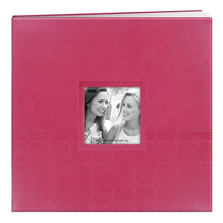 Pioneer Embossed Post Bound Scrapbook Album 12