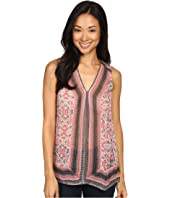 Lucky Brand - Printed Border Tank Top