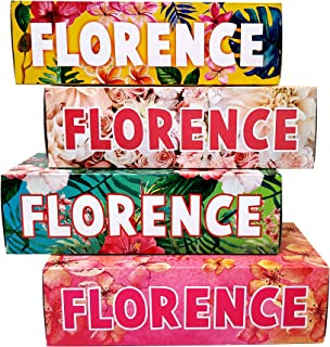 Florence Facial Tissues - Pack Of 4 Box - Biodegradable - Child Safe - Allergy Free