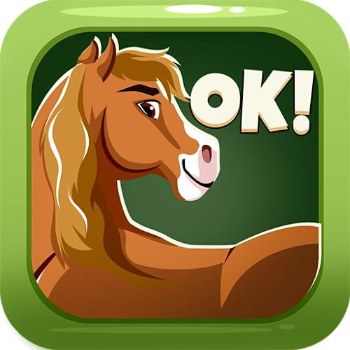 American Quarter Horse Sticker Emojis - Animated Keyboard