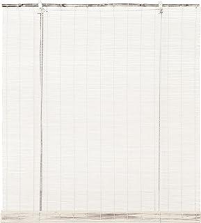 Stor Planet Ocres Estores, Bambú, Blanco, 90 x 175 cm