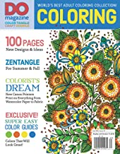 DO: Color, Tangle, Craft, Doodle (#5) (Design Originals) World's Best Adult Coloring Collection, New Designs & Ideas, Zentangle(R) for Summer & Fall, Exclusive Super Easy Color Guides (Do Magazine)
