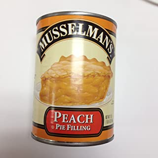 Musselman's Peach Pie Filling Pack of 2 Cans