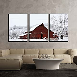 Best red barn in snow Reviews