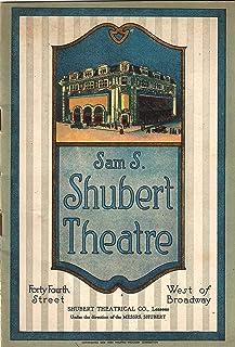 """Joe E. Brown""""GREENWICH VILLAGE FOLLIES"""" Ted Lewis/Irene Franklin 1921 Broadway Program"""