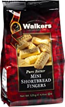 Walkers Shortbread Mini Fingers, Traditional Pure Butter Shortbread Cookies, 4.4-Ounce (Pack of 6)